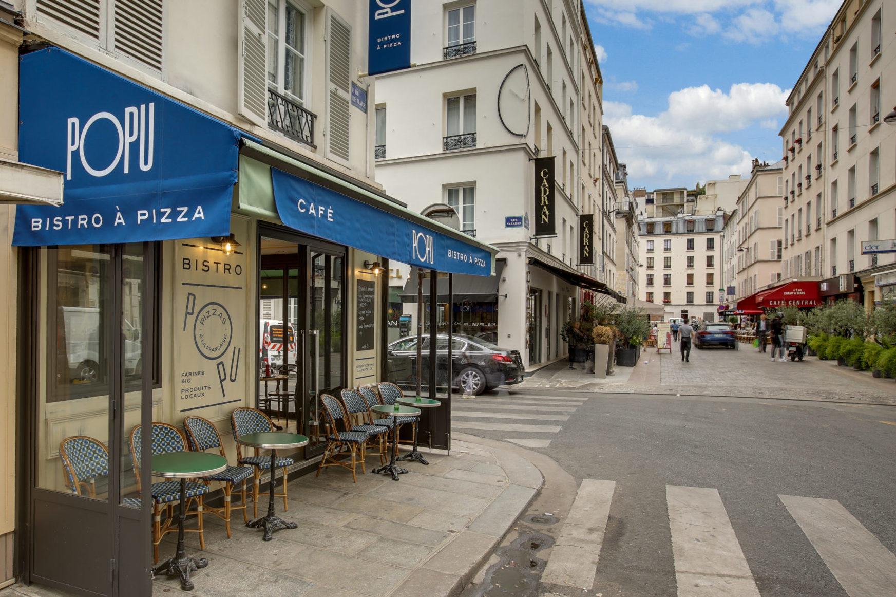 Popu pizza restaurant terrasse