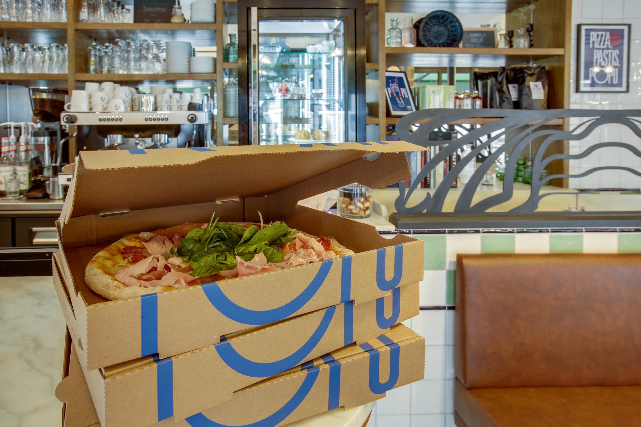 Popu Pizza sur place et à Emporter